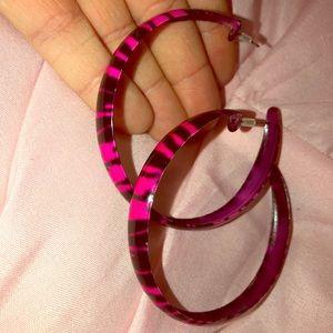 Exotic hoop earrings‼️BOGO‼️